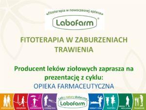 Fitoterapia w zaburzeniach trawienia Labofarm